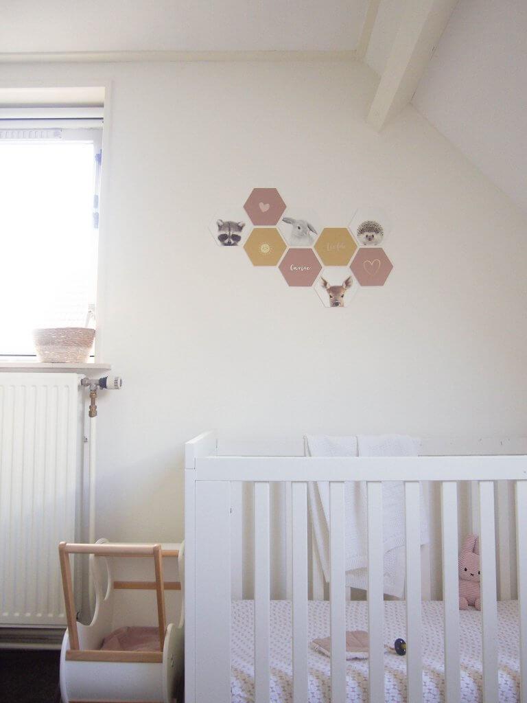 hexagon in kinderkamer