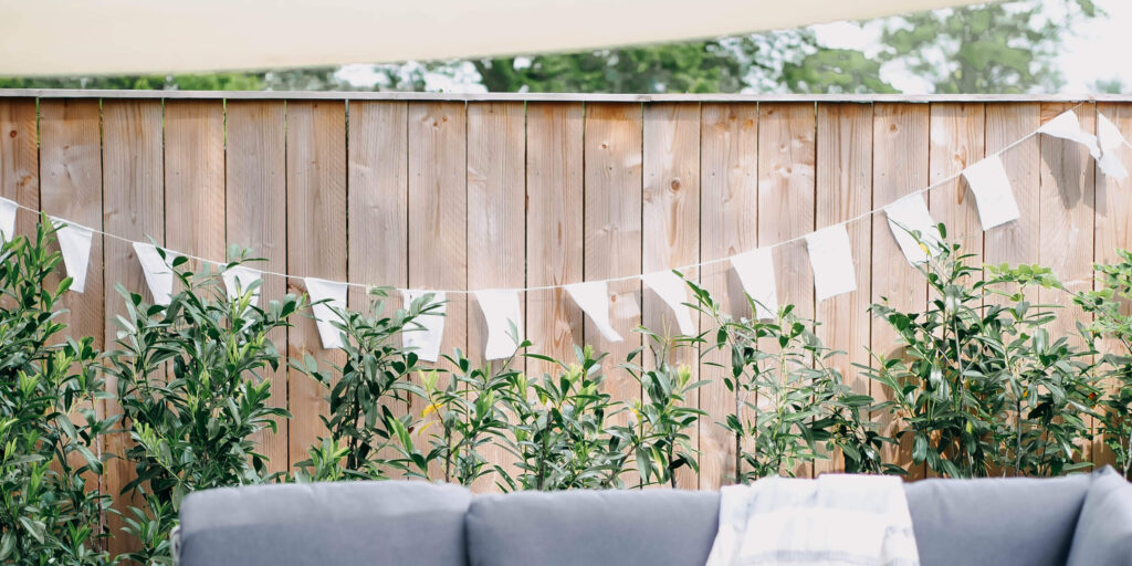 Vlaggenlijn voor buiten – DIY