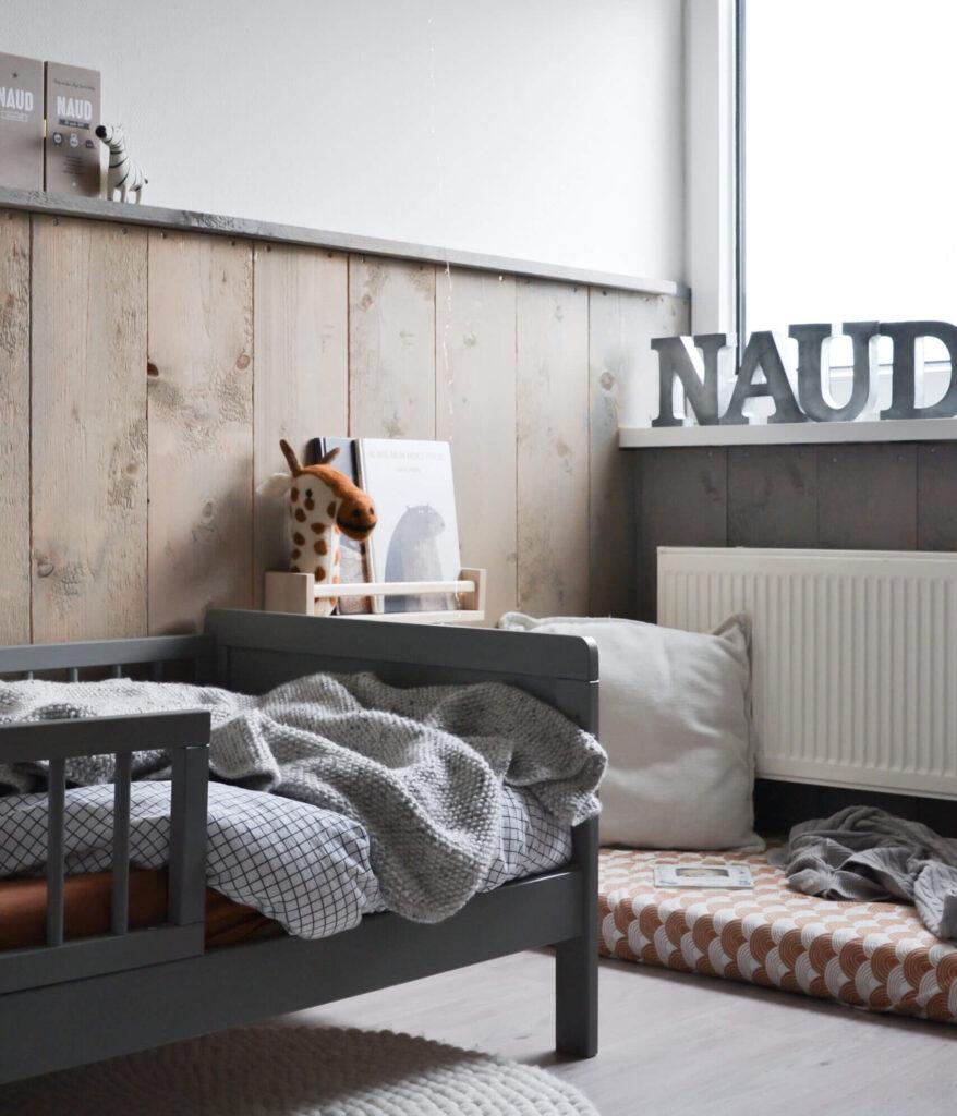 Binnenkijken in de Scandinavische kinderkamer van Naud