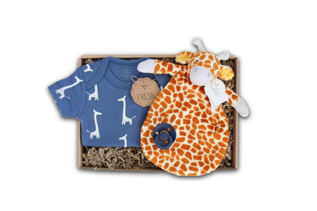 babyshower cadeau knuffeldoekje