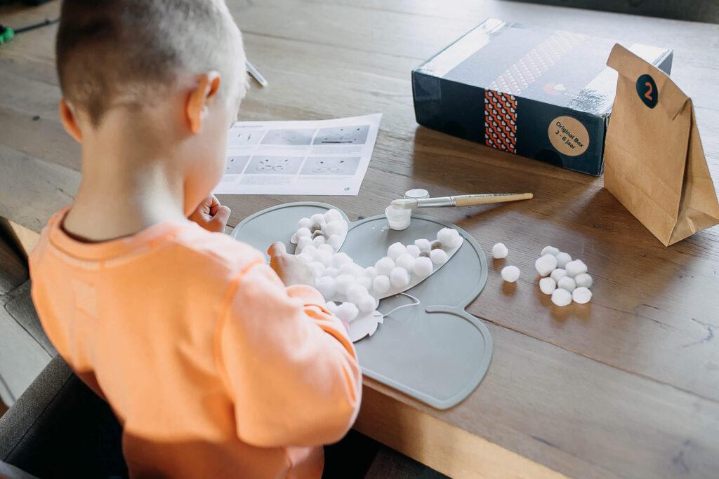 Knutselbox voor kinderen bestellen via Little Creations