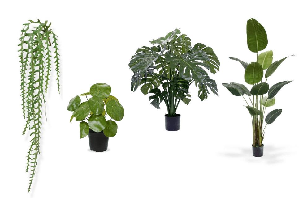 mooie goedkope kunstplanten voor binnen