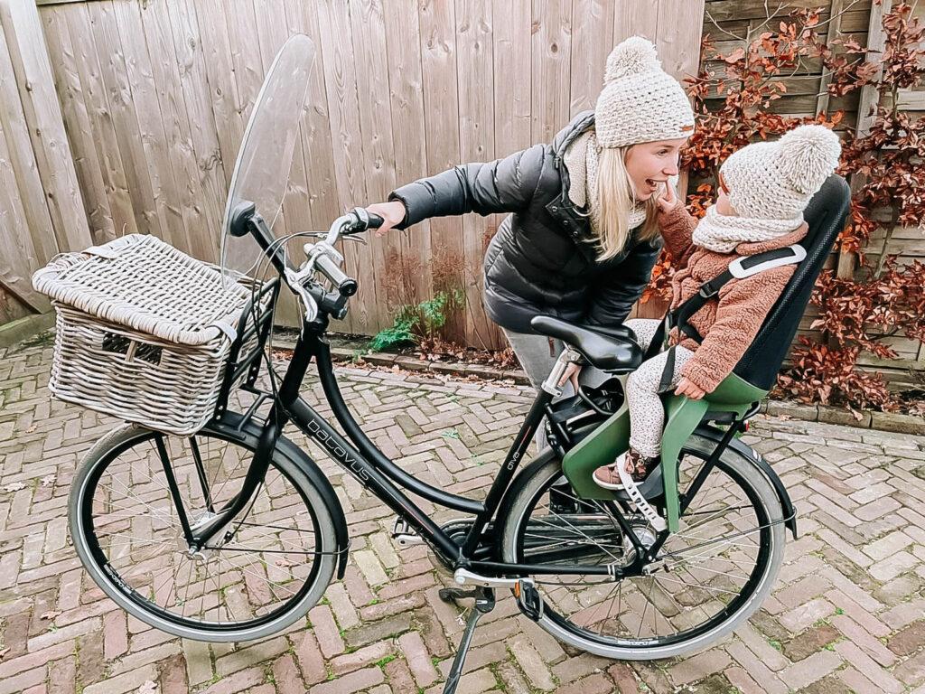Qibbel Air fietsstoel voorzitje achterzitje review ervaringen
