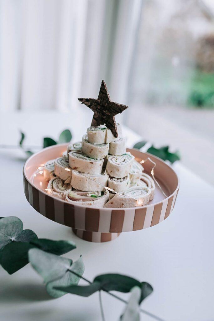 kerstdiner voorgerecht kinderen kerstmenu wraps kerstrecepten voor kinderen