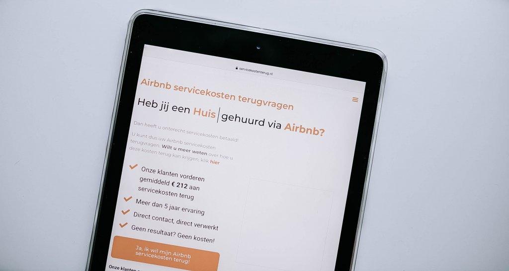 servicekosten Airbnb terugvragen claimen hoe