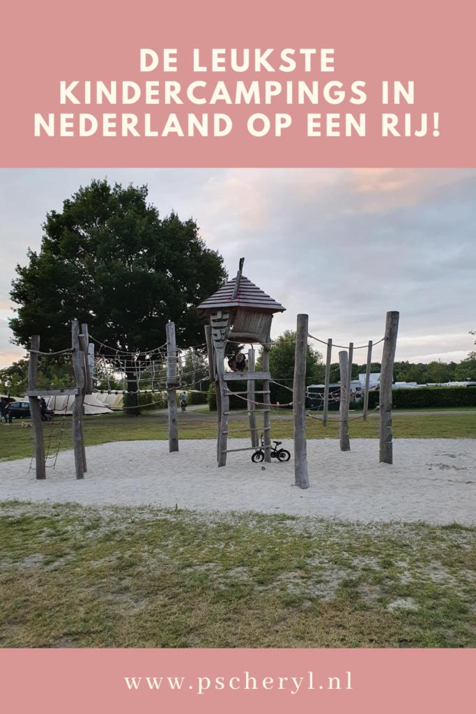 kindercamping nederland overzicht leuke schoon aan de kust