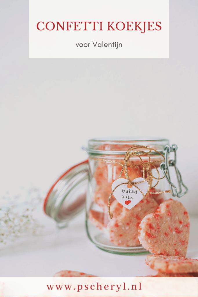 Confetti koekjes voor Valentijn