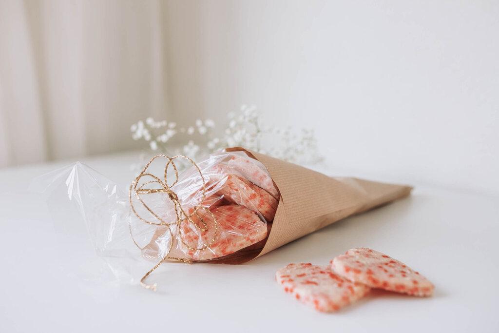Confetti koekjes voor Valentijnsdag valentijnscadeau recept