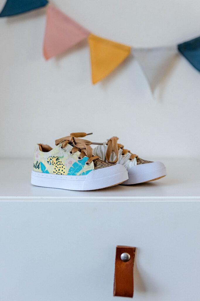 dierenprint sneaker kinderen shoesme