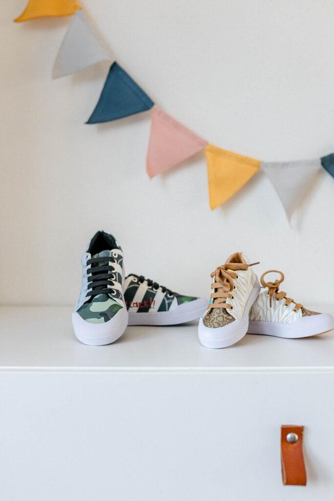 shoesme kindersneakers go bananas jongens meisjes