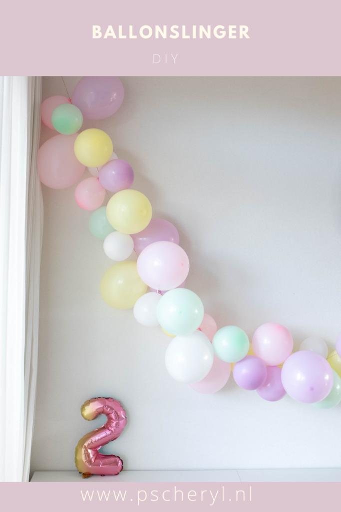 ballonslinger zelf maken