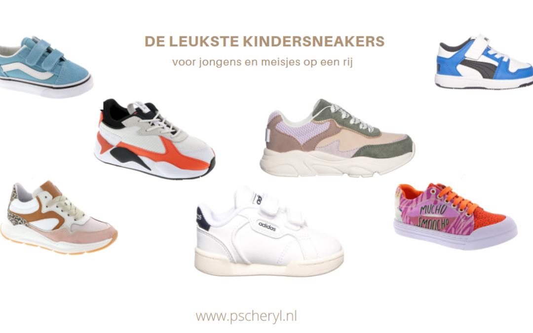 De leukste kindersneakers voor jongens en meisjes op een rij