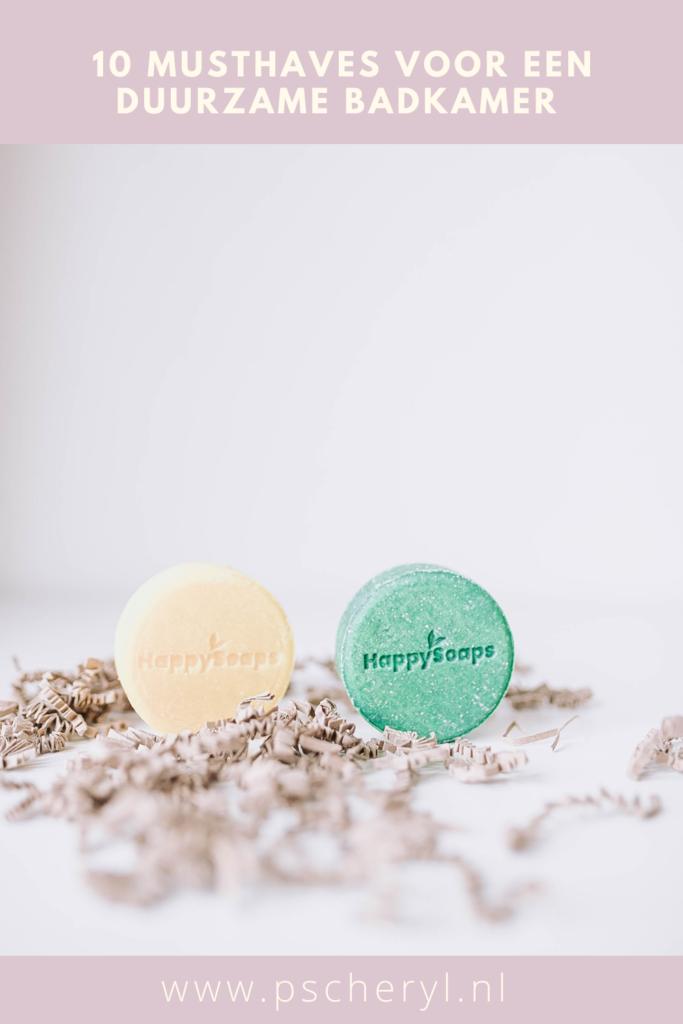 duurzame badkamer producten alternatief shampoo bar body bar bath bomb