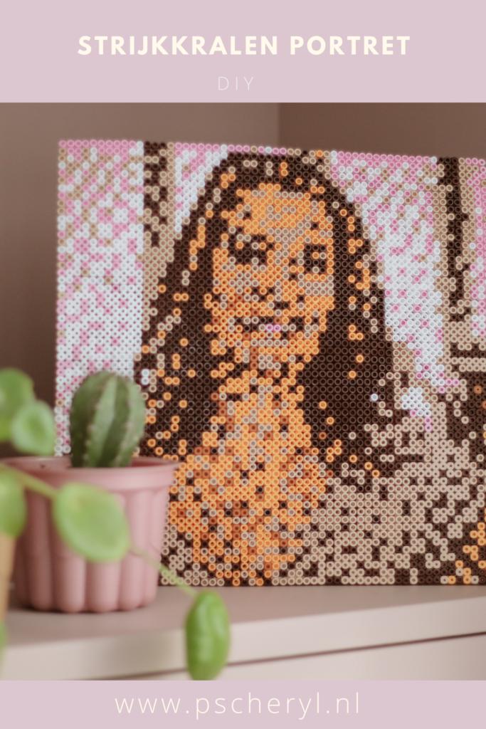 strijkkralen portret patronen voorbeeld