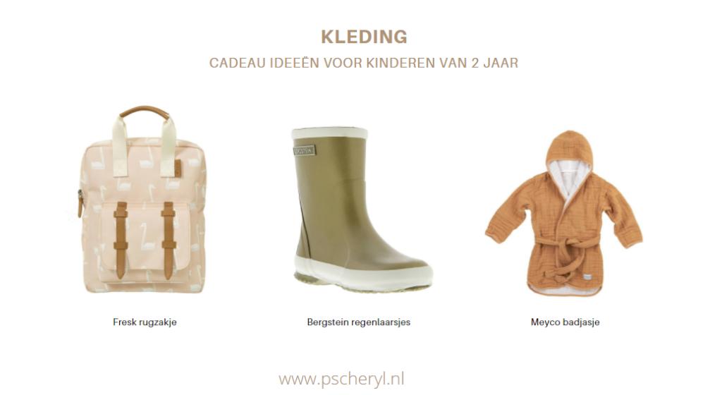 cadeau ideeën voor kinderen van 2 jaar kleding