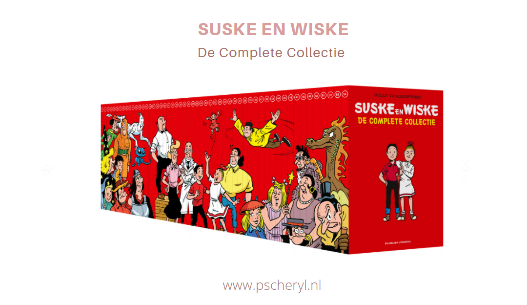 Suske en Wiske de complete collectie