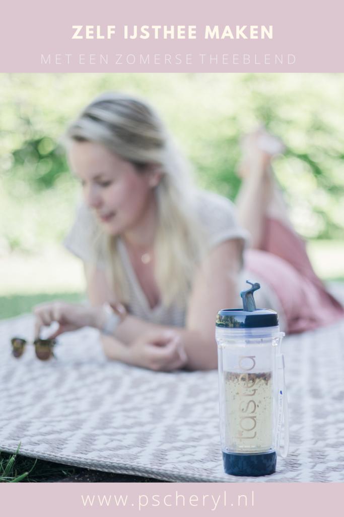 zelf ijsthee maken met zomerse blend tastea zomerdrankje