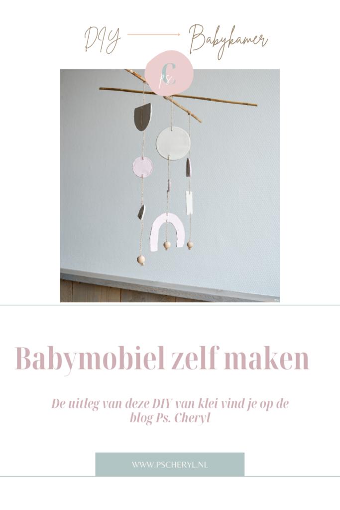 mobiel voor boven box of babybed zelf maken