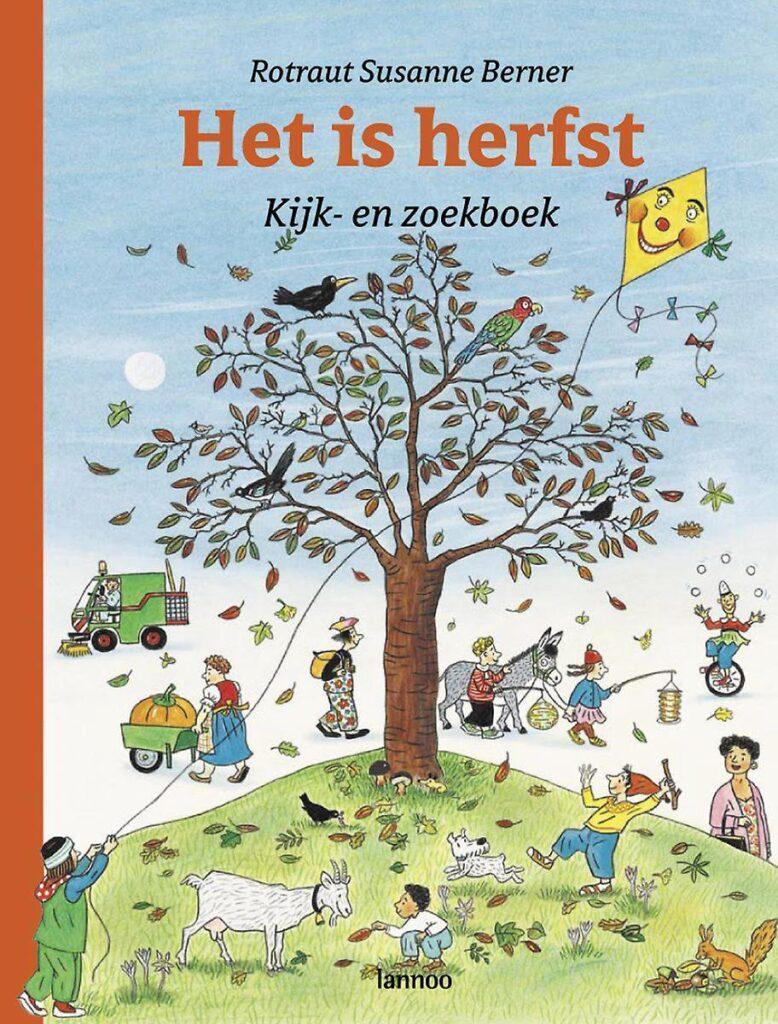 kinderboek over herfst